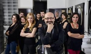 Hairdresser team