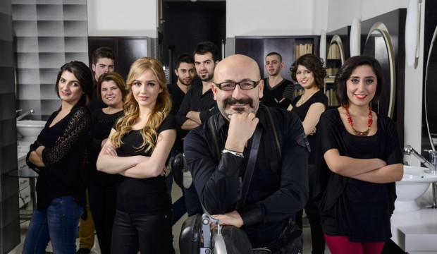Hairdresser team